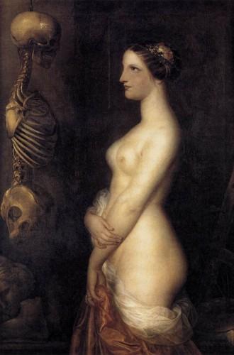 Symbolisme - Wiertz, Deux jeunes filles ou la belle Rosine.jpg