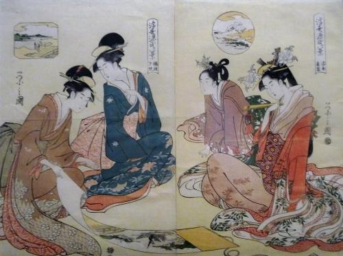 Ukiyo-e Quatre femmes.JPG