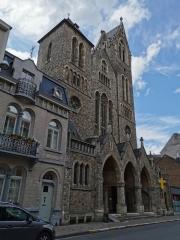 schaerbeek,patrimoine,église saint-servais,néo-gothique
