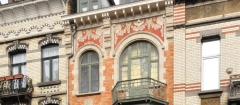 privat livemont,sgraffite,art nouveau,architecture,schaerbeek,bruxelles,culture