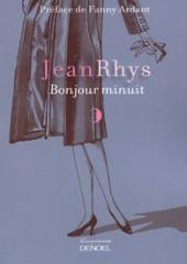 rhys,jean,bonjour minuit,roman,littérature anglaise,paris,bohême,alcool,rencontres,solitude,culture
