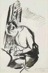 Wouters Rik, Femme écrivant.jpg