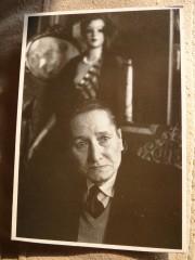 Ghelderode, d'après une photographie de Charles Leirens (1959) sur carte postale.JPG
