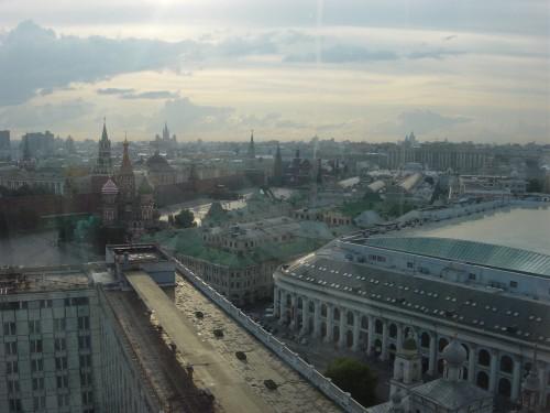 Moscou, Vue du haut de l'hôtel Rossia.JPG