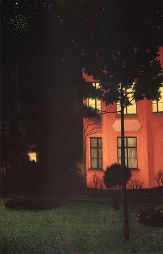 Degouve de Nuncques, La maison rose.jpg
