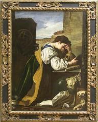 Domenico Fetti-La mélancolie vers 1618-1623.jpg