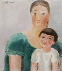 Schirren Mère et enfant 1924.jpg