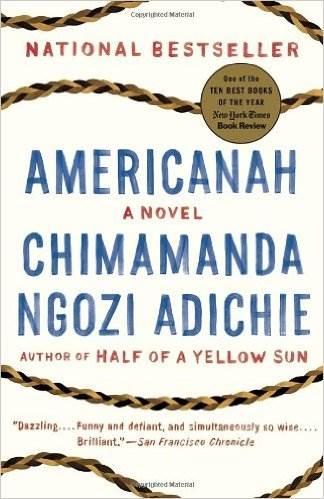 adichie,chimamanda ngozi,americanah,roman,littérature anglaise,nigeria,études,université,jeunesse,formation,amour,culture