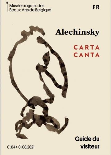 alechinsky,carta canta,exposition,mrbab,oeuvres sur papier,parcours d'artiste,peintre belge,culture