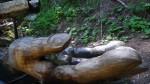 pache,eau vive,sculpture,bois,bisses,eau,valais,nendaz,chemin,balade,alpes,montagne,nature,culture