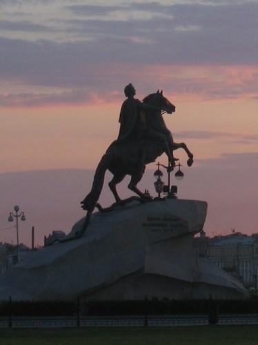 St Pétersbourg Le cavalier de bronze.jpg