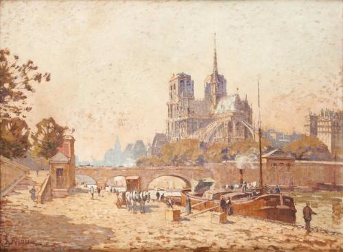 Sophus Levinsen (1869-1943) Quai de Paris.jpg