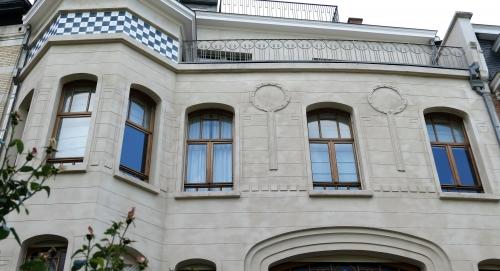 estivales,2018,schaerbeek,square vergote,rue pelletier,architecture,art nouveau,art déco,maison contemporaine,edk,patrimoine,culture