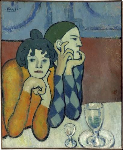 Picasso Arlequin et sa compagne (les deux saltimbanques).jpg