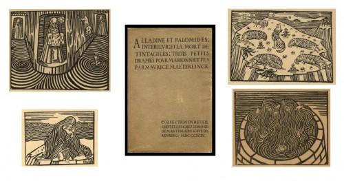 minne,maeterlinck,exposition,catalogue,gand,belgique,littérature française,peinture,sculpture,livres illustrés,art,symbolisme,douleur,culture