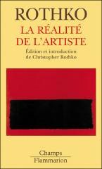 Couverture Rothko La réalité de l'artiste.jpg
