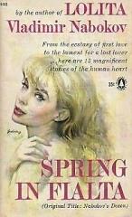 nabokov,mademoiselle o,printemps à fialta,nouvelles,littérature américaine,souvenirs,amour,culture
